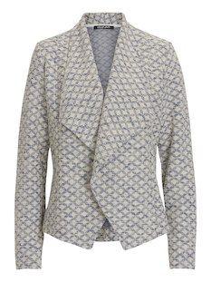 Offene Jacke im Blazer Stil mit Struktur