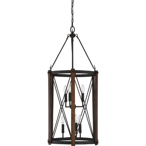 found it at wayfair mancos 6light foyer pendant - Foyer Chandeliers