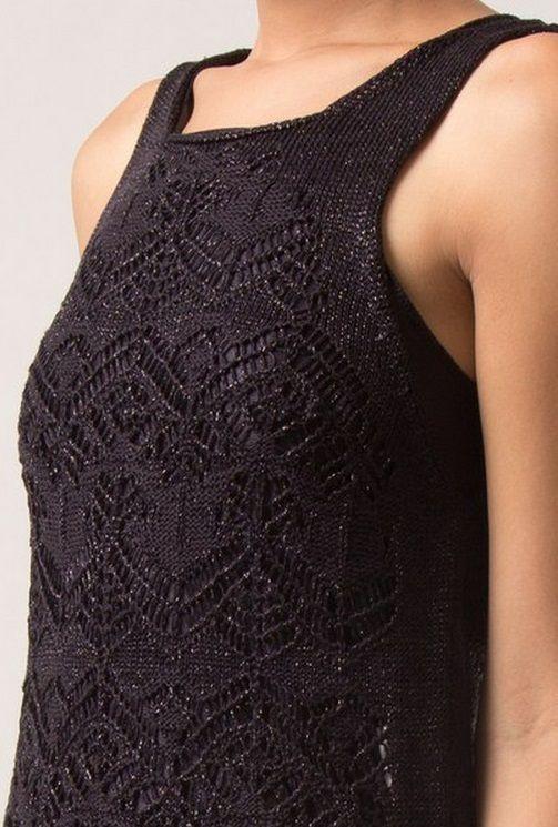 Узоры для платья спицами