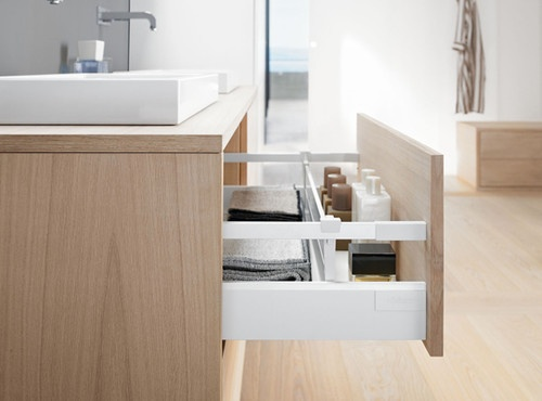 Blum Antaro Drawer contemporary cabinet and drawer organizers Deep drawer dividers