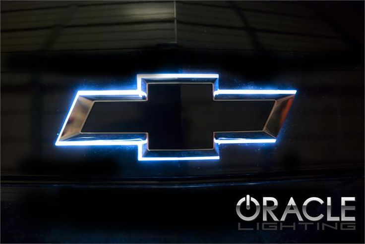 Chevy Illuminated LED Rear Bowtie ... the color shift option!
