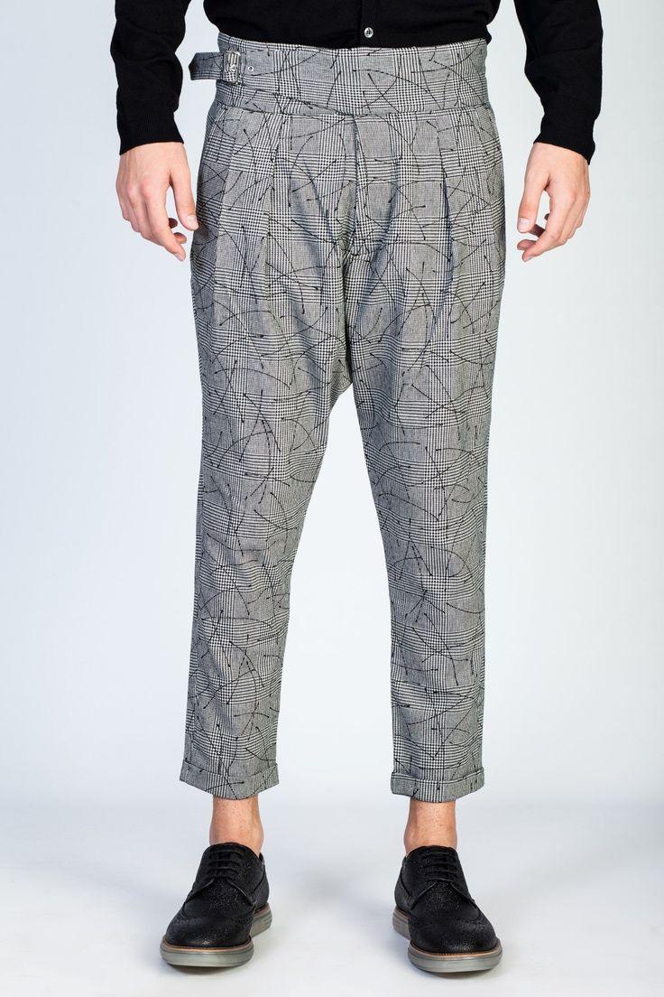 OVERCOME Wool Pants at #hionidismankind #mensfashion