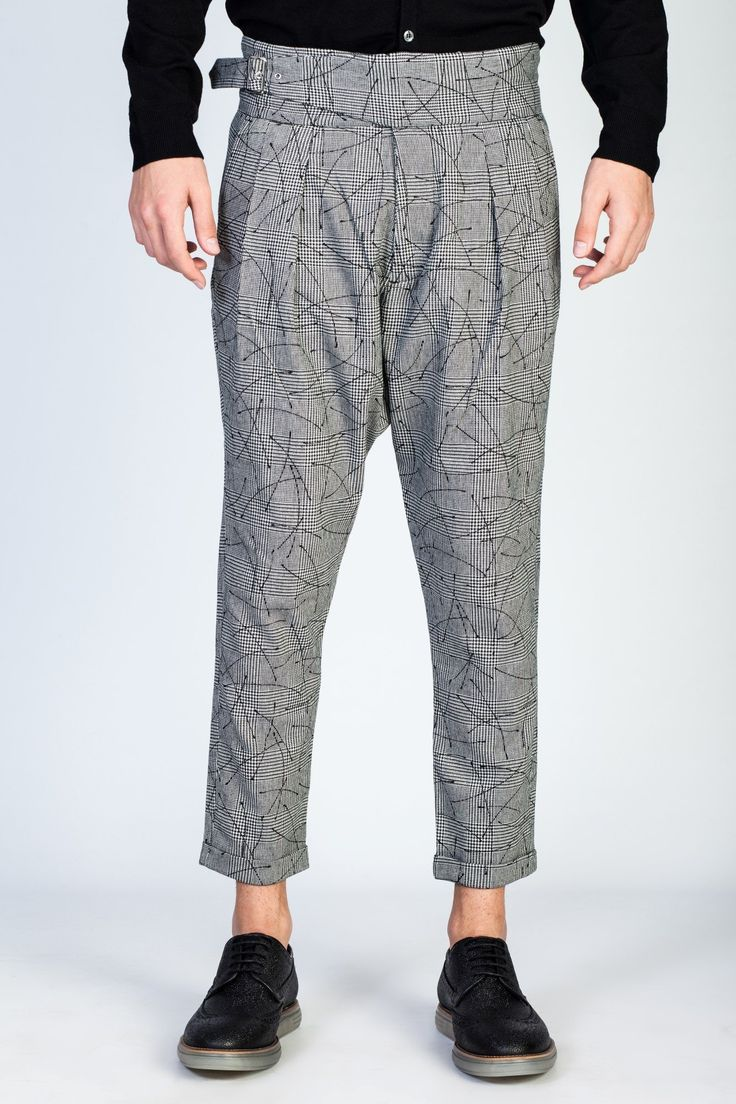 OVERCOME Wool Pants at #hionidismankind #mensfashion