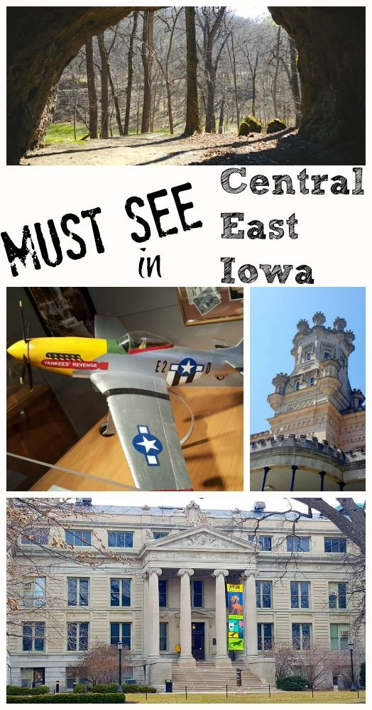 MUST SEE locations in Central East Iowa. This list is exactly what I was looking for! From haunted locations to museums and caves this covers all the hot spots from Iowa City to Waterloo and everywhere nearby!