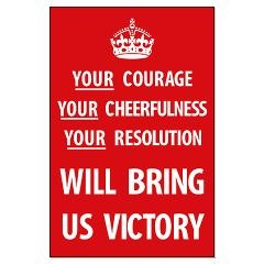 Your Courage - Poster - Red: Red, Style, Poster, Courage