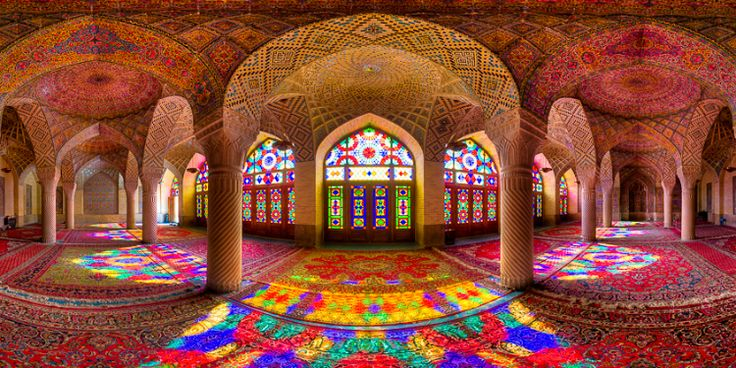Interiors Around The World: Mosaic Tiles And Glass Windows Make Iran's Palaces | Home Inspiration Ideas