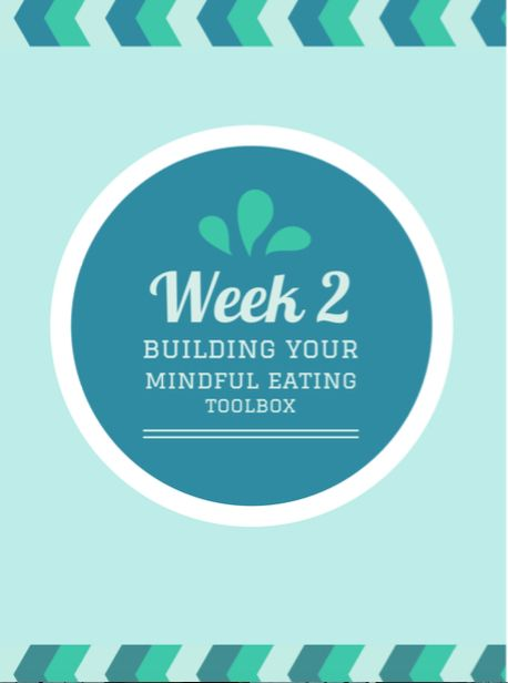 30 Day Mindful Eating Challenge – Woche 2