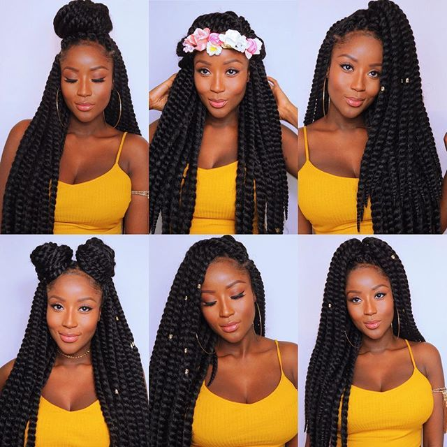 Box braids / protective style