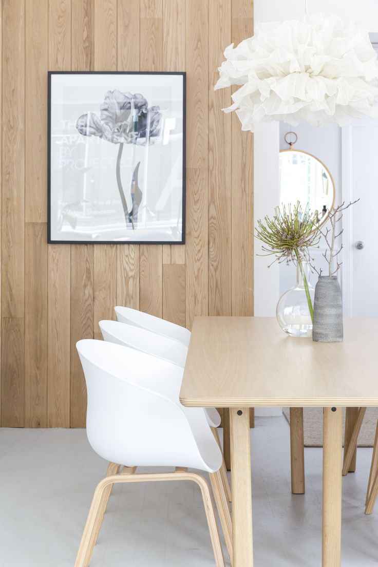This trestle table easily seats up to 8 Harley chairs, perfect for Christmas and other big meals!