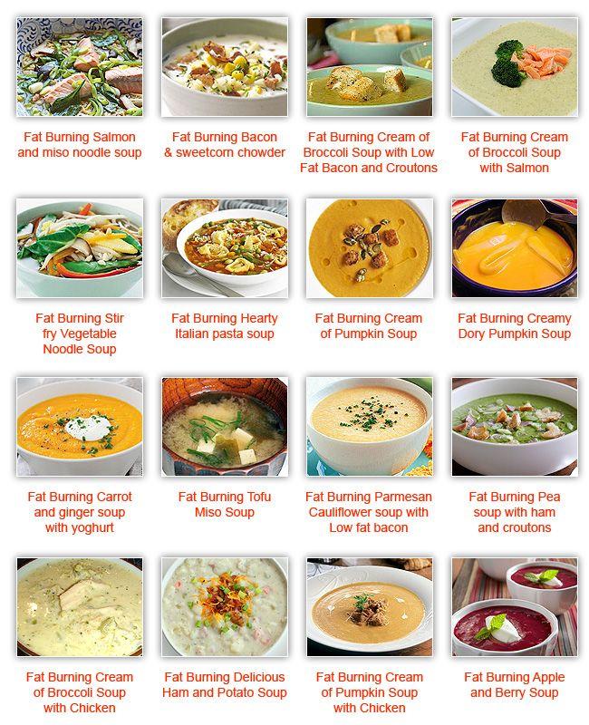 Fat burning soup #diet