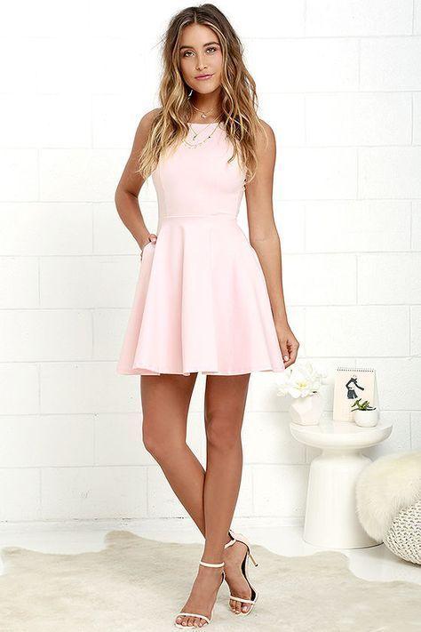 Rosa Kleid kombinieren: Welche Schuhe passen zu rosa Kleid