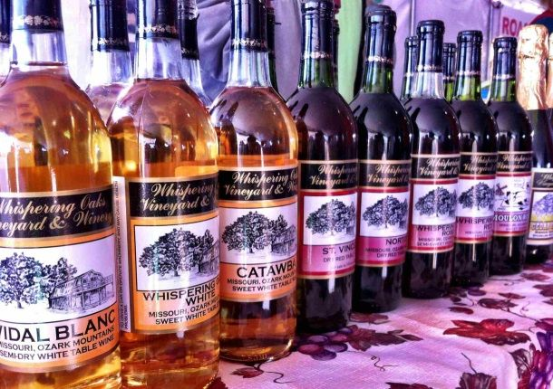 Whispering Oaks Vineyard & Winery - Springfield Missouri Travel & Tourism