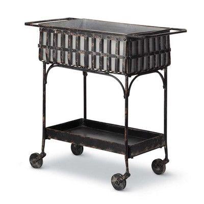 Foreside Home & Garden Serving Cart
