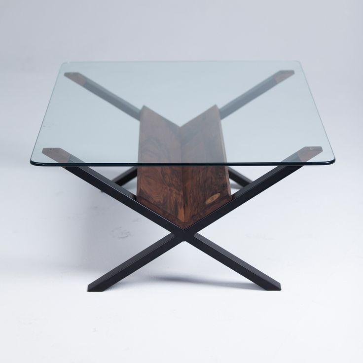 Black X Table - Sean Woolsey