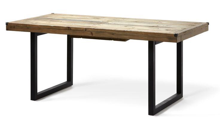 Woodenforge är ett rustikt matbord med en industriell känsla. Det har en lackad massiv bordsskiva med hörnbeslag i och underrede i metall. Bordet har ett butterfly ilägg som enkelt göms under skivan när det inte används. Woodenforge serien inspireras utav en tid då nytt land skapades och järnvägssystem byggdes. Serien består av fsc-märkt återvunnet trä, såsom tall, lärk, gran, ek, rönn och pilträd. Varje del i serien har en äkta kolonial charm med en handgjord finish.