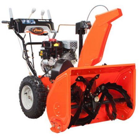 Ariens Deluxe 28 inch 2-Stage Electric Start Gas Snow Blower with Auto-Turn Steering