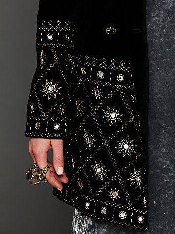 Embellished Magic Velvet Jacket
