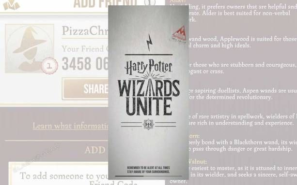 Harry Potter Wizards Unite Starter Pack Tap These 5 Hidden Settings This Morning The Game Harry Potter Wizards Unite Was Rel Harry Potter Wizard Potter Harry