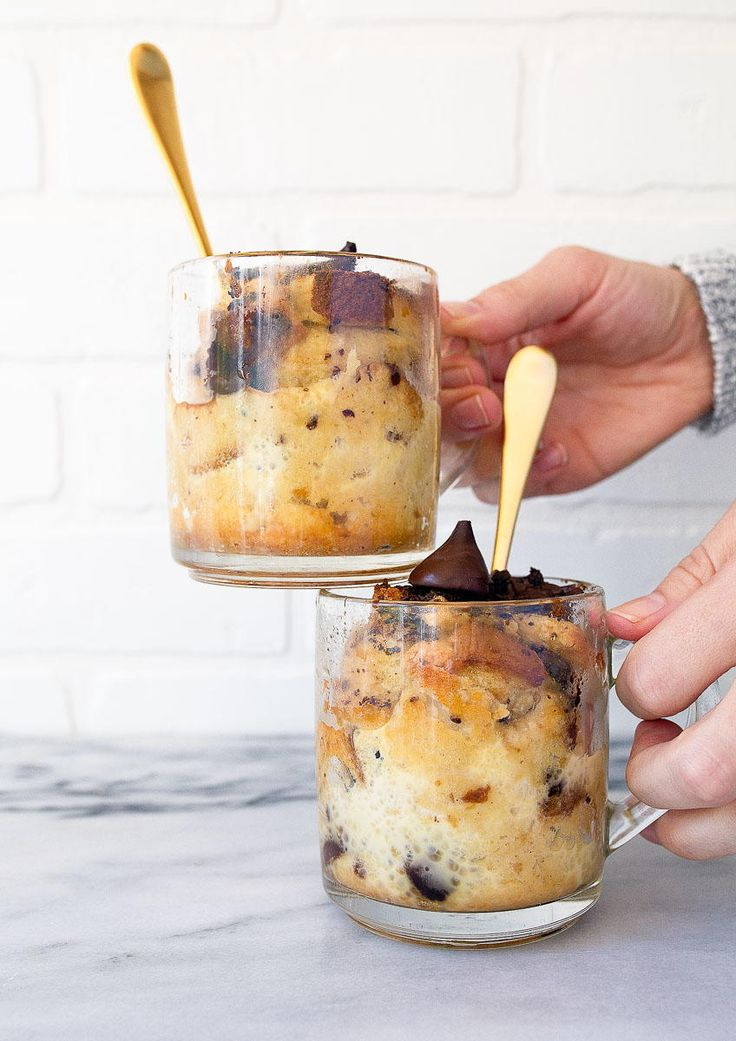 Easy Bread Pudding for Two | A comforting bread pudding recipe for two!