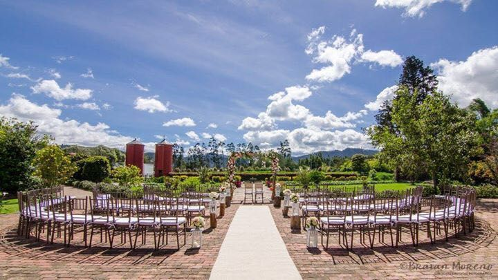 Montaje ceremonia al aire libre. #Wedding #Ceremony