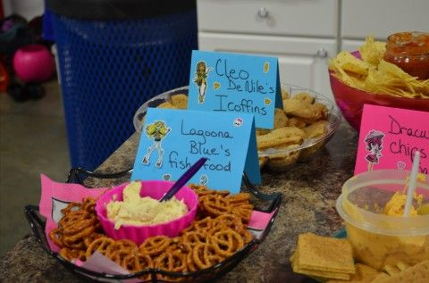 Monster High Party Food Parties Pinterest