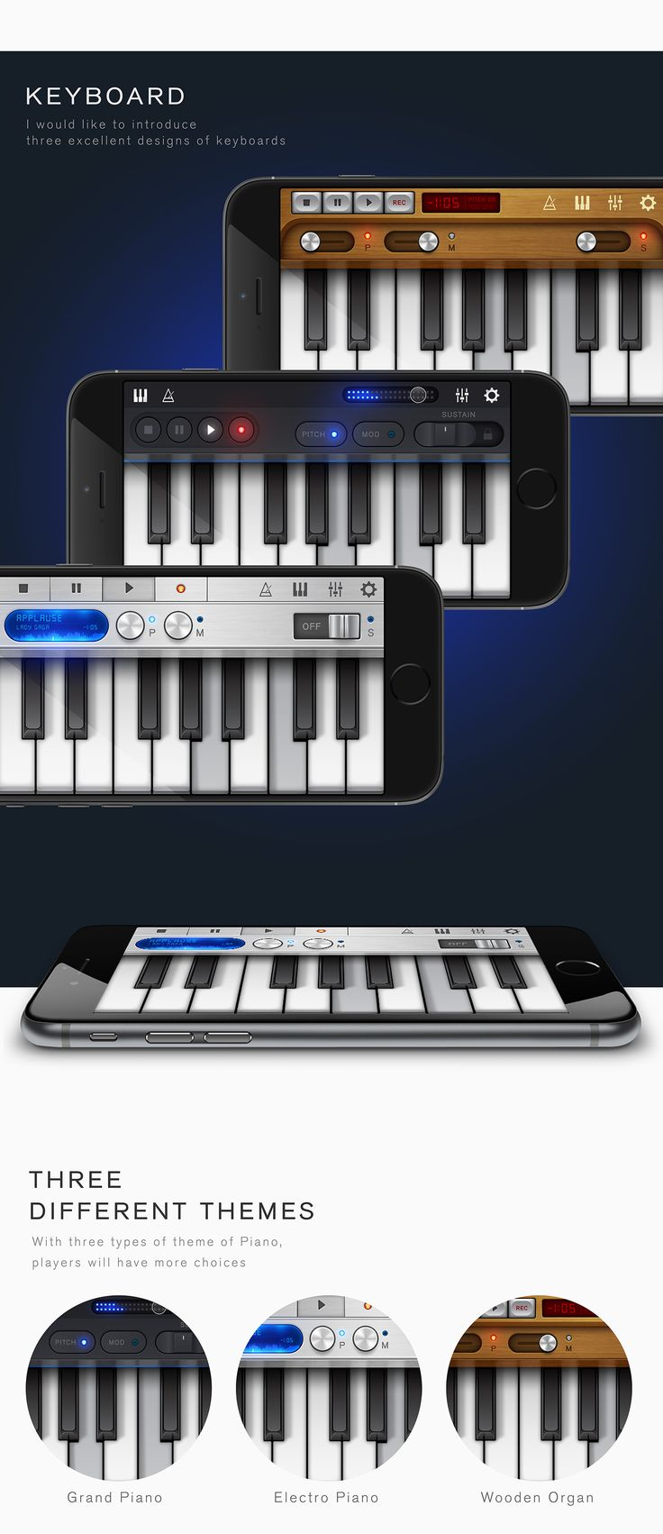 Five Studio - New Musical Profesional Application on Behance