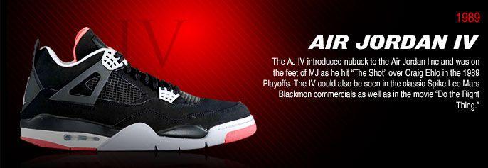 History of Air Jordan 4