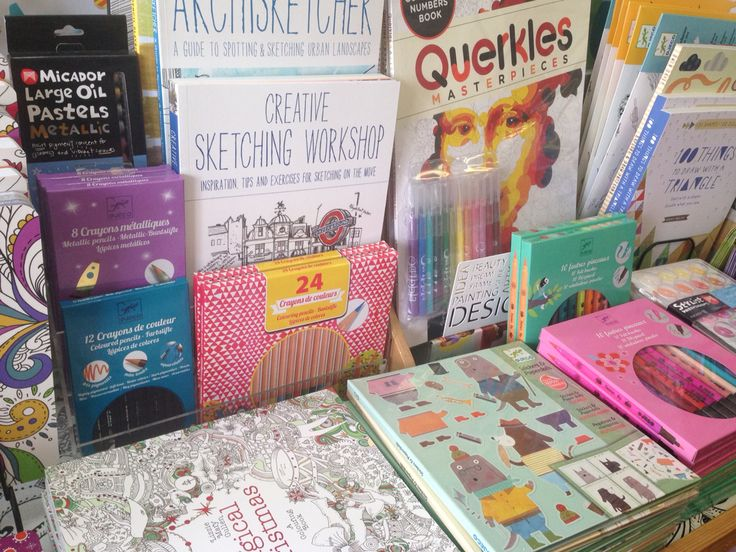 Creating colouring, sketching and drawing books