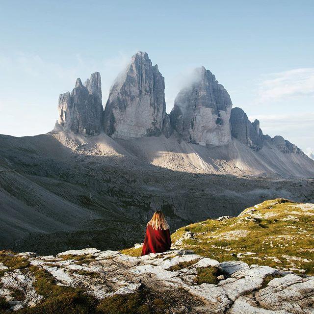 Waking Up Next To The Tre Cime Di Lavaredo I Italien-1272