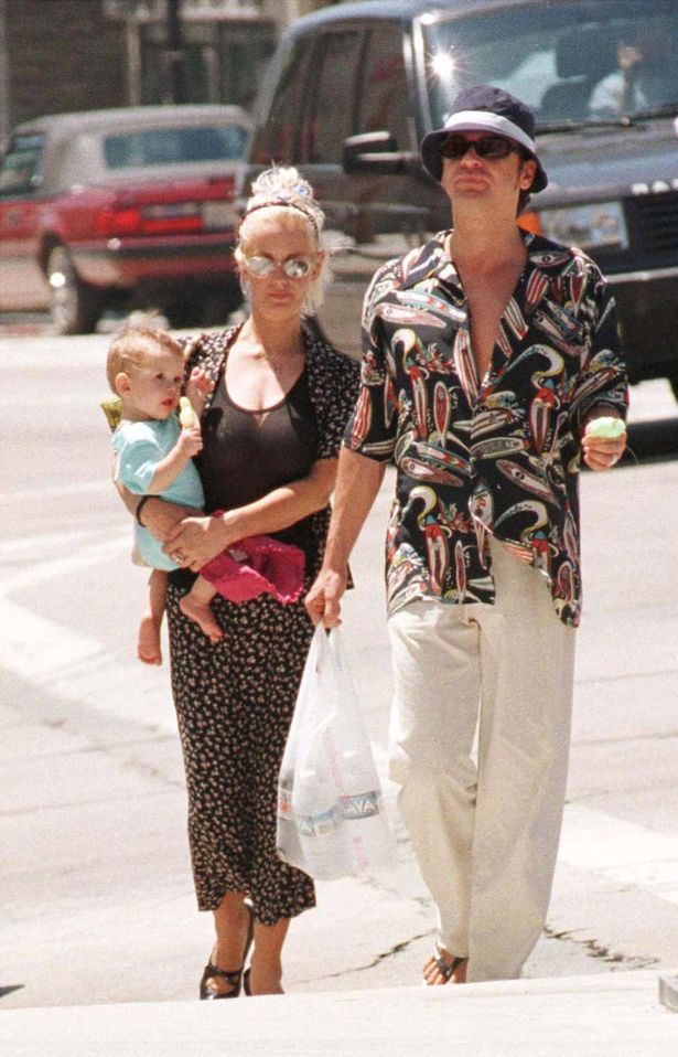 Family: Paula, Michael and Tiger Lily