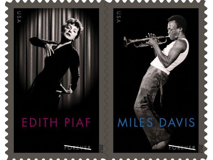Las imágenes del gran trompetista Miles Davis y de la cantante Edith Piaf ilustrarán unos sellos postales que serán distribuidos tanto en Estados Unidos como en Francia.  Con ello, se pretende homenajear a estos íconos que marcaron un hito en la historia de la música.  El Servicio Postal de Estados Unidos y el de Francia, lugares de origen de Davis (1926-1991) y Piaf (1915-1963) respectivamente, rinden tributo a estos legendarios artistas con una ceremonia en el Rubin Museum of Art de Nueva…
