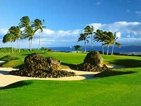 Golfing through Hawaii.