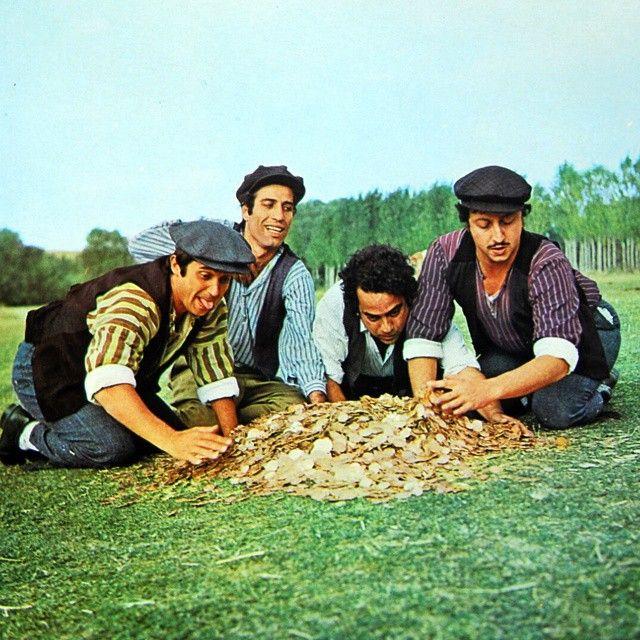 Halit Akçatepe, Kemal Sunal, Zeki Alasya, Metin Akpınar / Köyden İndim Şehire / 1974