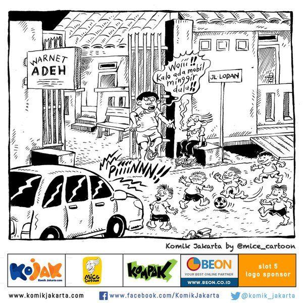 Main Bola Di Mana Lagi? @mice_cartoon #KomikJakarta dari buku komik Football's Coming Home https://t.co/0LTsXDXr7c