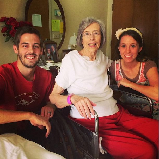 Jill Duggar and Derick Dillard have a lot to look forward to. But their happiness was brought to a halt this week with news that Derick's grandmother has passed away.