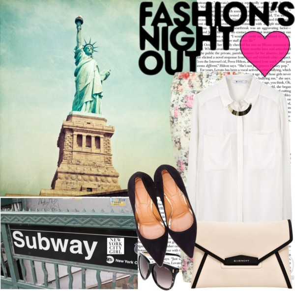 """Fashion Night Out 2012"" by mellr on Polyvore"