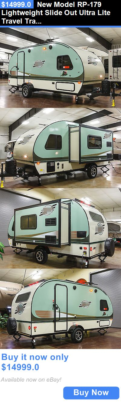rvs: New Model Rp-179 Lightweight Slide Out Ultra Lite Travel Trailer Camper For Sale BUY IT NOW ONLY: $14999.0