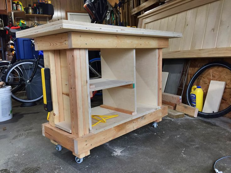 Built the Weekend Woodworker courses BMW (Basic Mobile Workbench) http://ift.tt/2nlrsdY