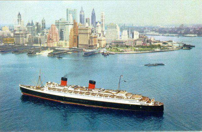 queen Elizabeth at new york