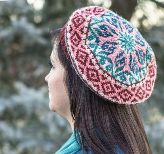 17 Best images about stranded colorwork hat knitting patterns on Pinterest ...