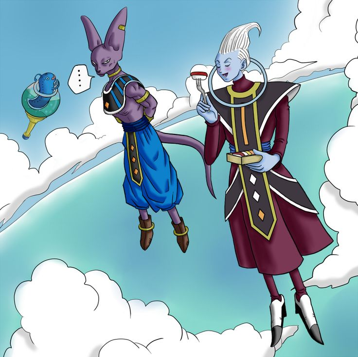 Beerus & Whis                                                                                                                                                                                 More