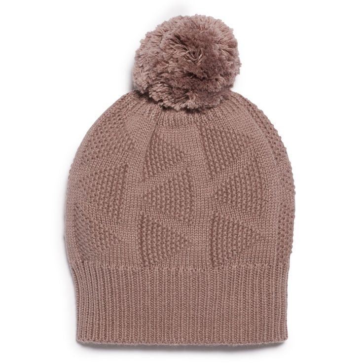 Knitted hat with pom pom perfect for keeping those little heads warm in autumn and winter.   #wilsonandfrenchy #babystyle #pompom #beanie #baby #fashion #unisex #babylove #perfectbabies  #unisexbabyclothes  #newmum #babygift #babyshower #australiandesign #shopbaby #mumsunite #babylove #magicofchildhood #little