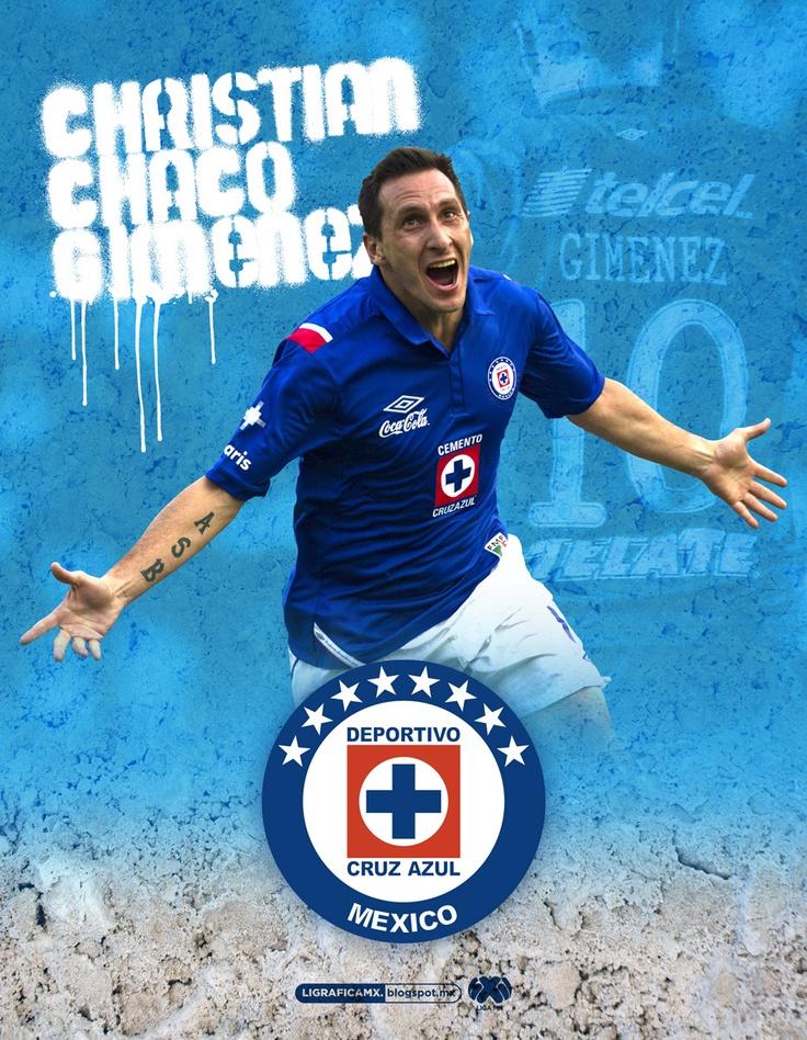 Chaco Giménez •Cruz Azul • #LigraficaMX