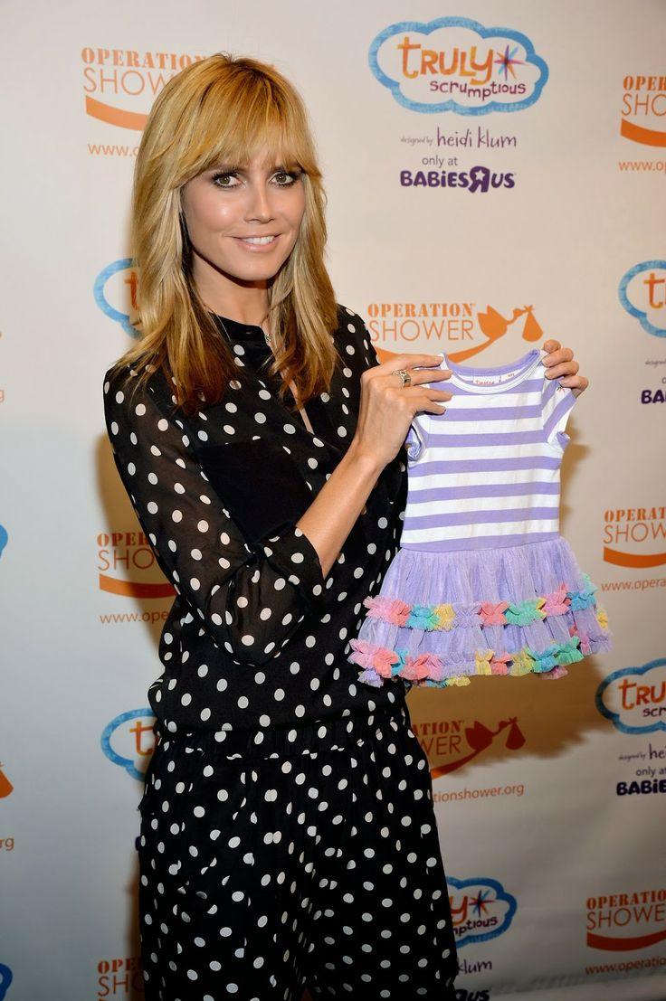 Heidi Klum's Truly Scrumptious children's clothing line at Babies R Us
