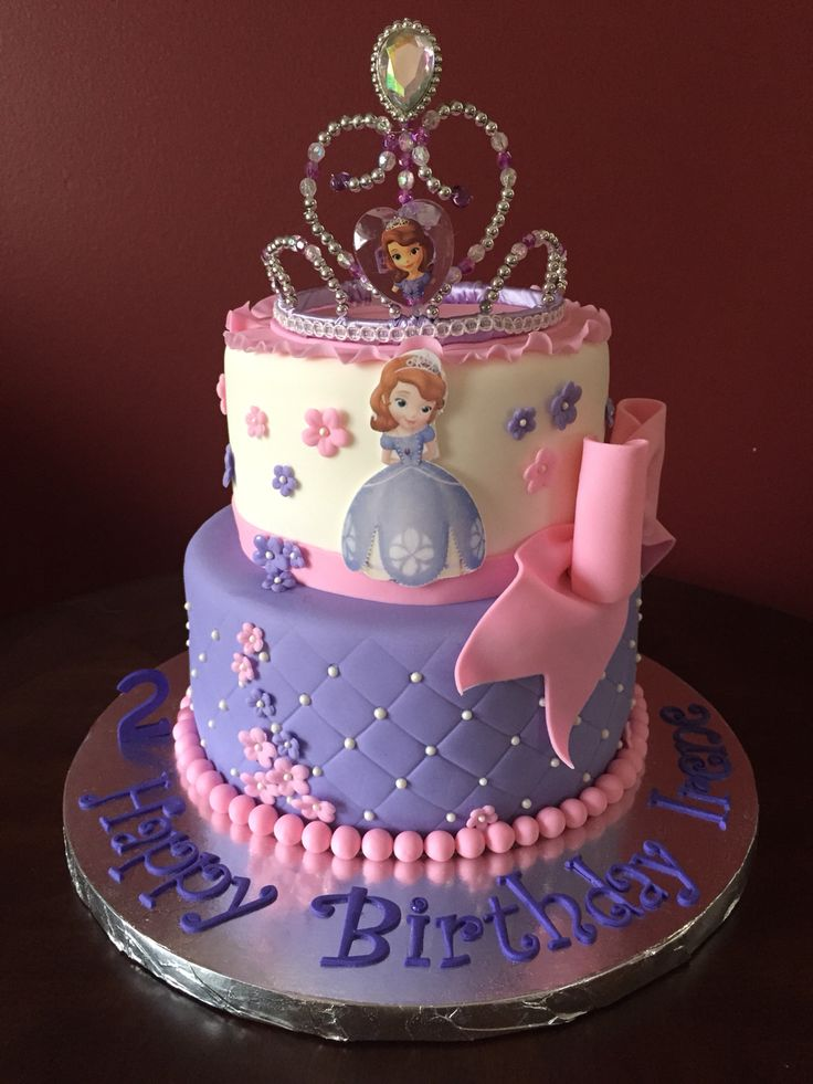 171 best sofia the first cakes images on pinterest birthdays cake ideas and conch fritters. Black Bedroom Furniture Sets. Home Design Ideas