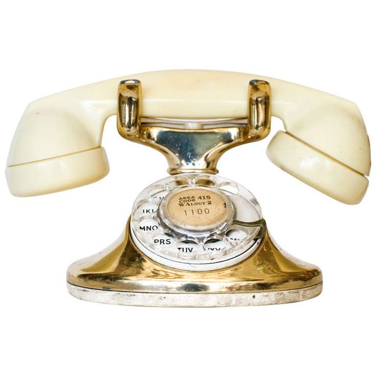 Western Electric Gold Plated Telephone | 1stdibs.com