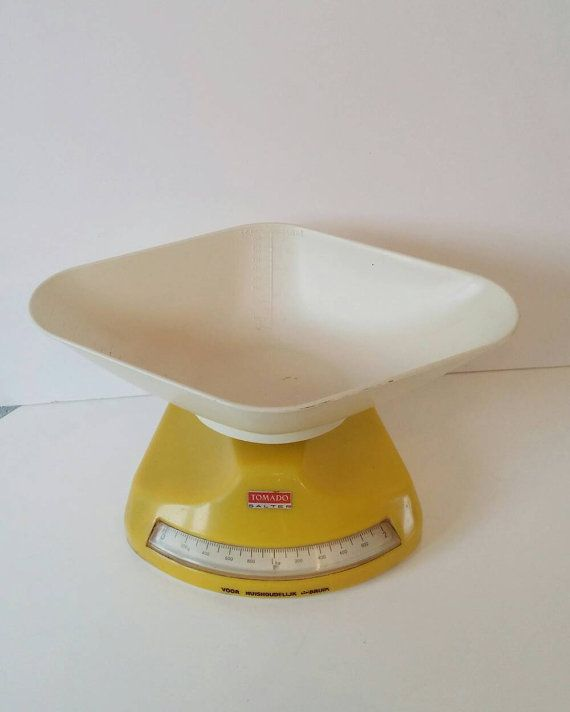 Vintage tomado / salter kitchen scale seventies