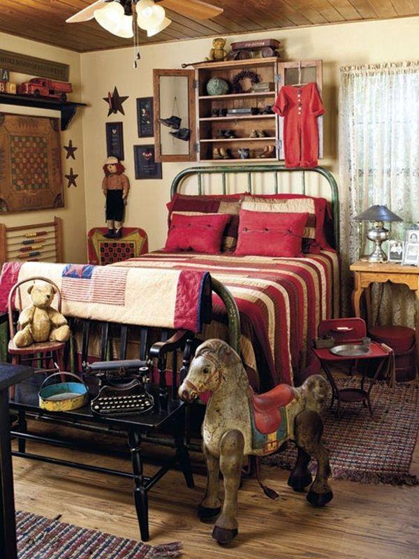 40 British Colonial Decoration Ideas Bored Art Country House Decor Primitive Bedroom Americana