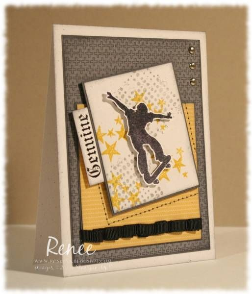 Genuine by prchvs - Cards and Paper Crafts at Splitcoaststampers