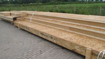 Laminated veneer lumber wood panel